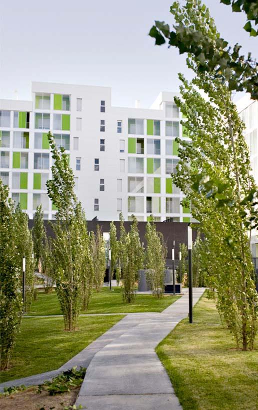 Obras. Arquitectura. P12 164 viviendas VPO Valdespartera 3. Carlos Martin La Moneda