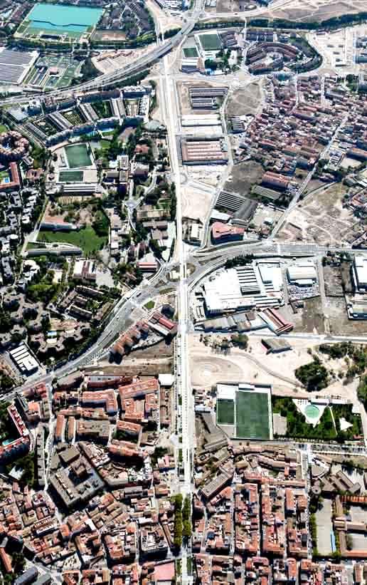 Obras. Urbanismo. Corredor Verde Oliver Valdefierro. Anillo Verde de Zaragoza. Carlos Martin La Moneda