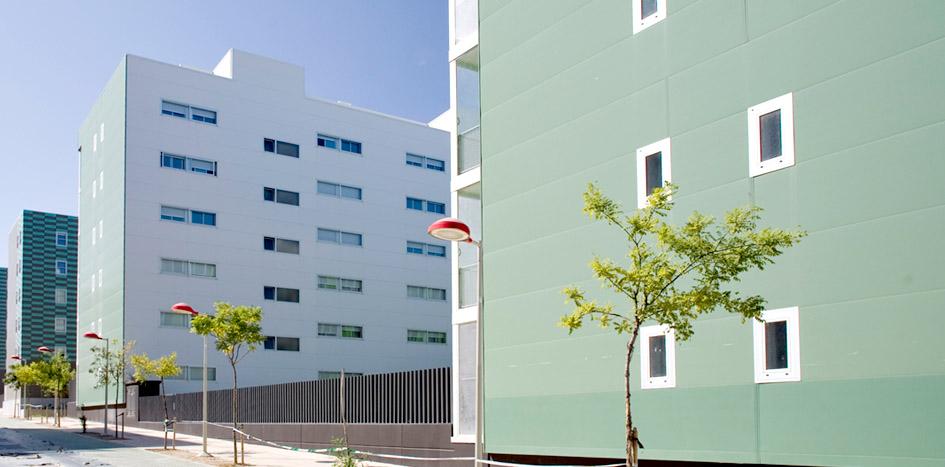 Obras. 02 P12. 6 Exterior. Valdespartera. Carlos Martin La Moneda