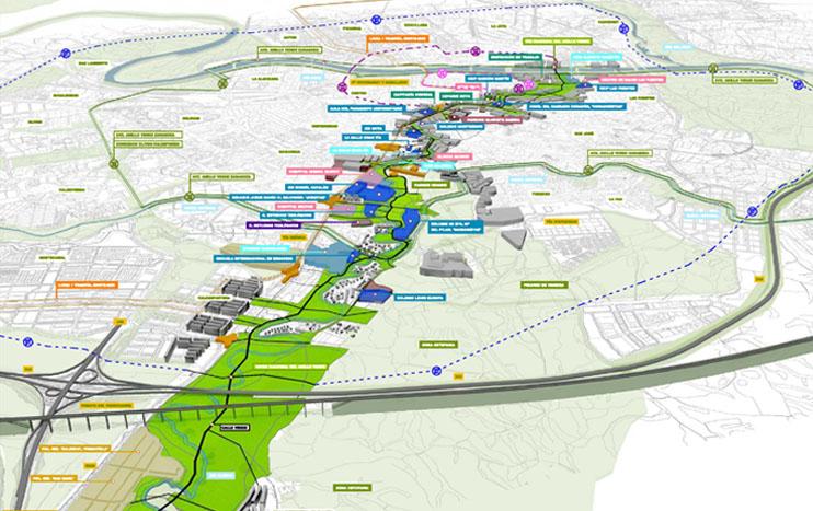 Obras. 01 Plan Director rio Huerva 5. Green Street. Carlos Martin La Moneda