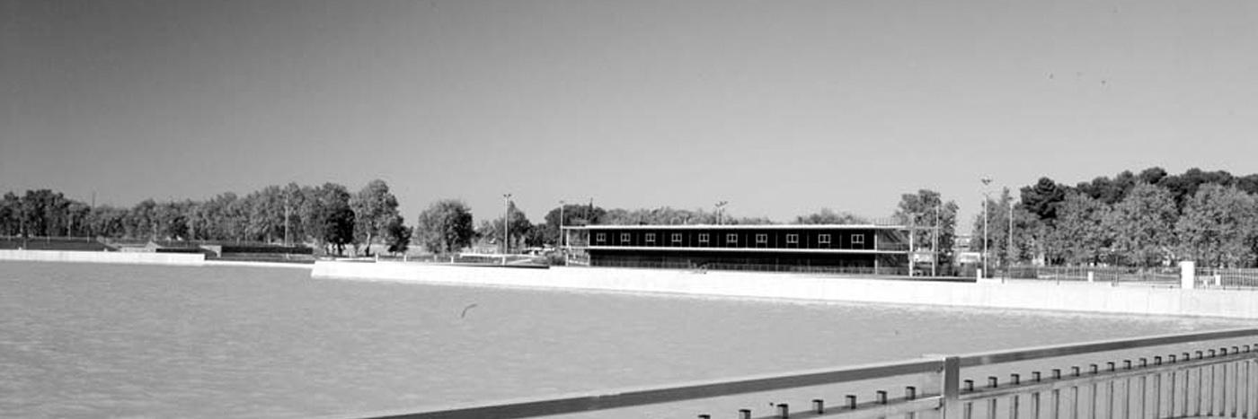 Obras. 03 Depositos Casablanca. Aerea Expo 5. Carlos Martin La Moneda