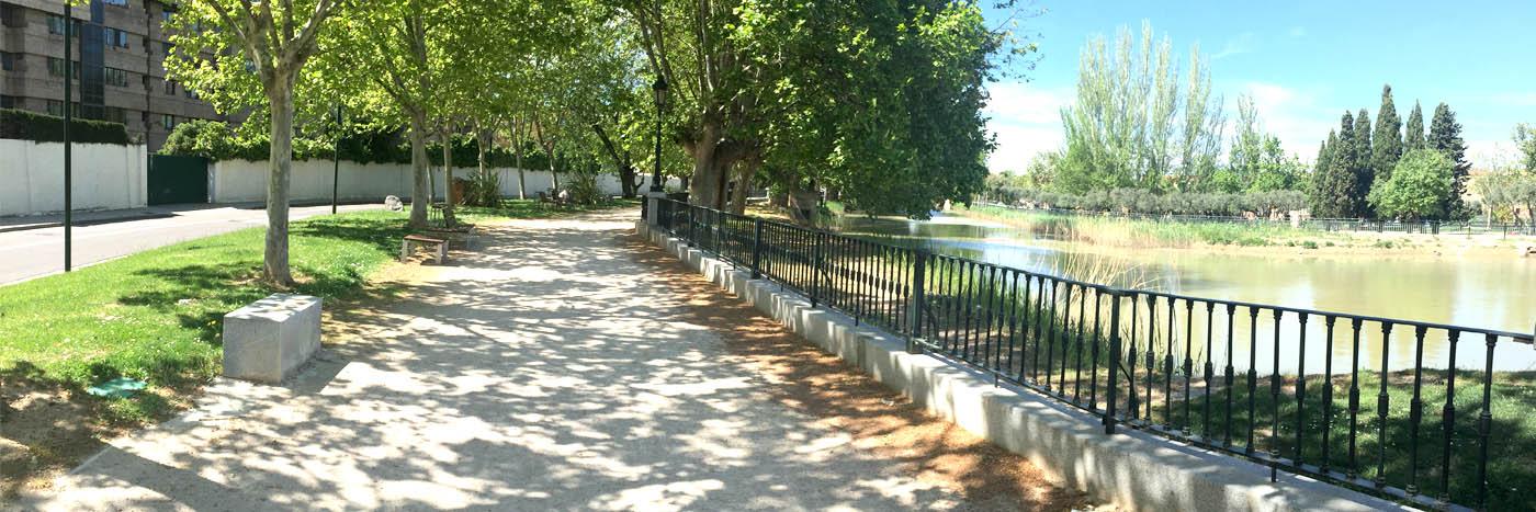 Obras. 17 Anillo Verde de Zaragoza.1.Carlos Martin La Moneda
