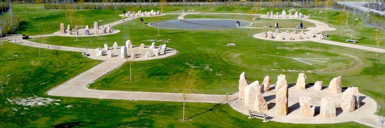 Obras. 19 Jardin de Rocas.8.Carlos Martin La Moneda