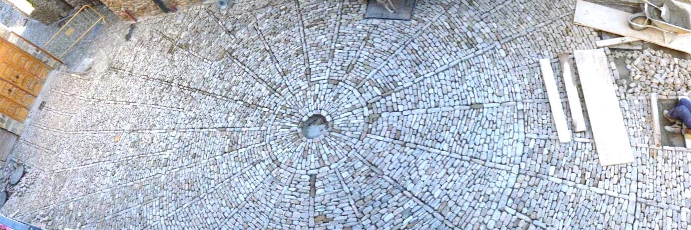 Obras. 28 Pavimentos San Roman.1.Carlos Martin La Moneda
